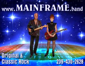 Classic Rock Band for Hire in Florida - MAINFRAME