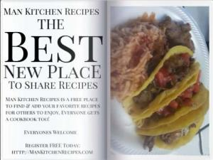 Man Kitchen Recipes - Follow us at Pinterest!